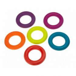 Legetøj ring gummi 7cm