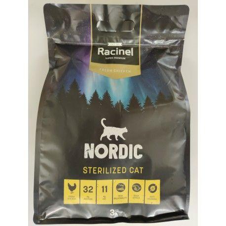 Racinel Cat Sterilized - Weight control - Senior - 3 kg